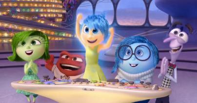 inside out; disney; pixar; disney pixar; emotions; joy; sadness; fear; disgust; anger; animated; film; movie