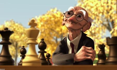 Geris Game; disney; disney pixar; pixar; pixar short;