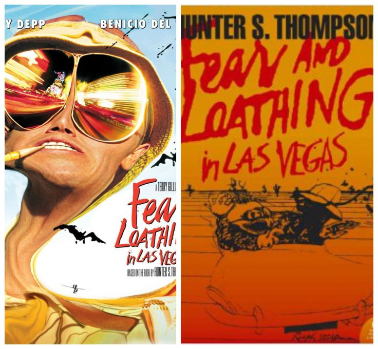 fear and loathing, fear and loathing in las vegas, hunter s thompson, johnny depp, book, film, adaptation, movie, cinema, novel