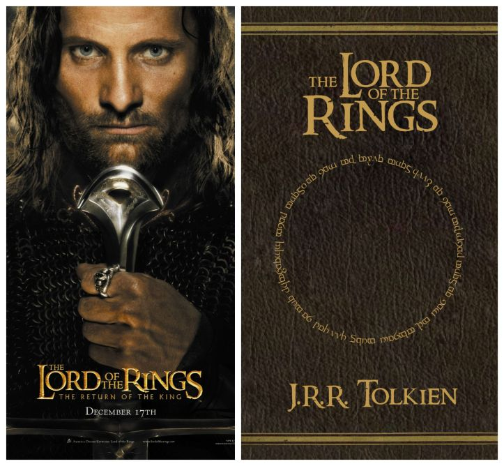 lord of the rings, lotr, tolkien, book, film, adaptation, movie, cinema, novel