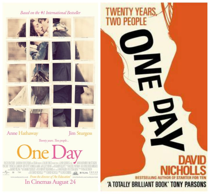 one day, david nicholls, anne hathaway, book, film, adaptation, movie, cinema, novel