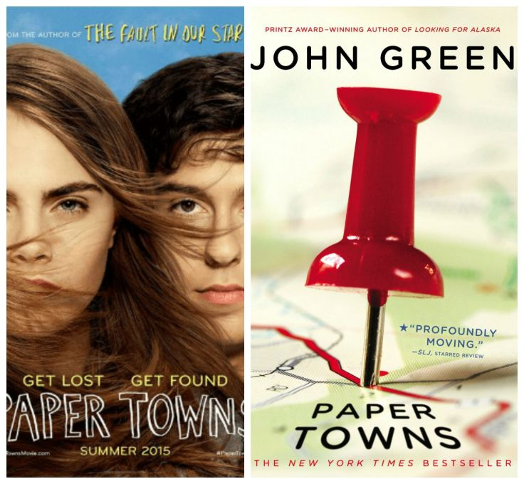 paper towns, john green, cara delevigne, nat wolff, the fault in our stars, young adult, fiction, teen