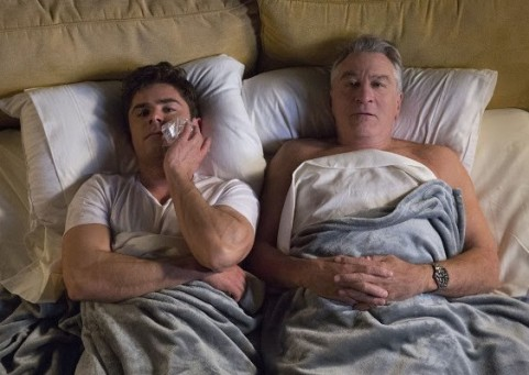 Zac Effron and Robert De Niro in Dirty Grandpa